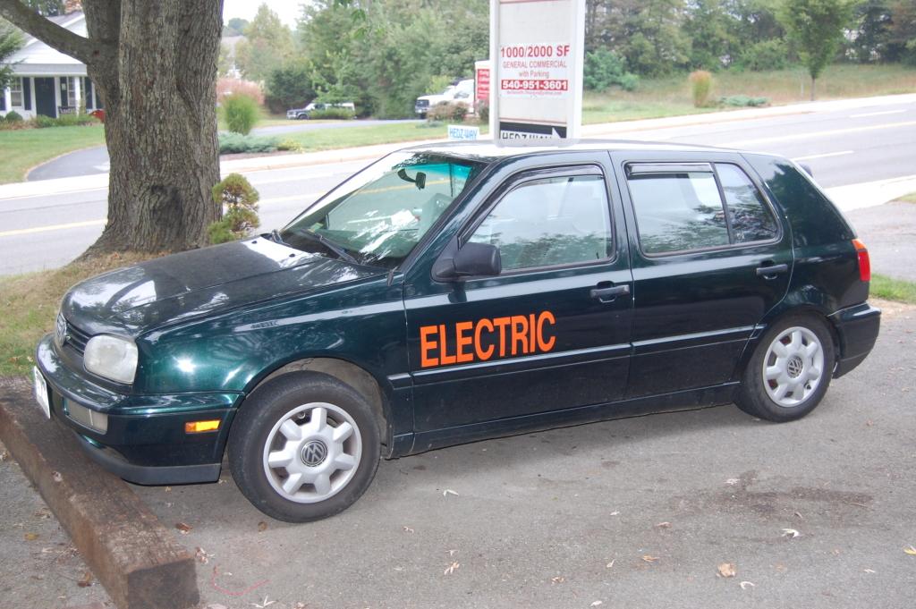 Electric Golf Conversion